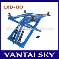 Receive well warmth at home and abroad product sky lift/scissor lifts for sale/elevadores para autos