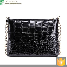 2015 Trending new product wholesale price ladies brand bags genuine crocodile leather handbags made in China