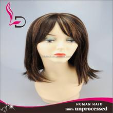wholesale high quality virgin brazilian human hair wigs