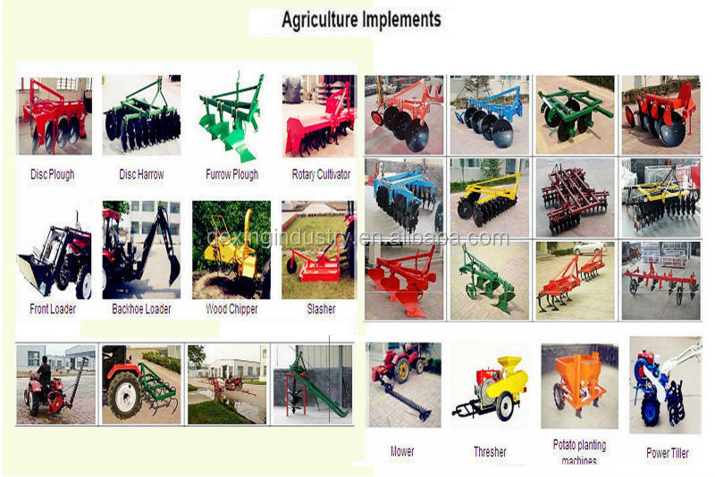 2014 hot selling farm machinery 4wd 55hp tractor DE-554