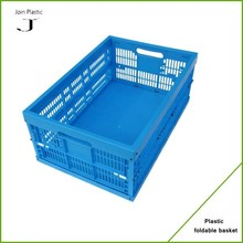 100% virgin solid bottome collapsible plastic totes