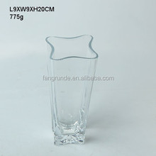 star mouth classical design refined Glass Flower Vase