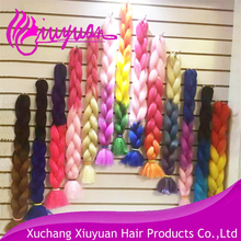 Hot Sale Fashion colorful Synthetic Braiding Hair