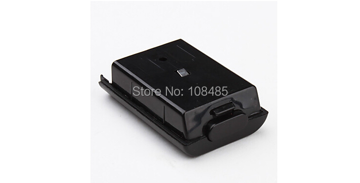 image for New Black Battery Back Cover Holder Pack Case Shell For Xbox 360 Wirel