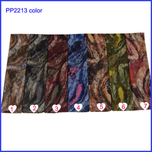 Beautiful wave stripe print women scarf shawls for wholesale