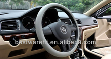 Wholesale pink silicone steering wheel cover for benz,bmw,ford,nissan,toyota,suziki,subaru
