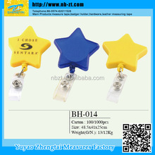 The most newly developed and cheap oem yoyo badge reel id card holder promotion gift badge