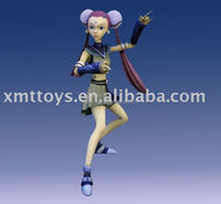 japanese anime resin china girl figures for souvenir