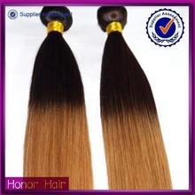 Angel best selling two tone 100% brazilian human virgin hair aunty funmi hair