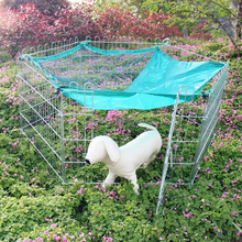 Folding Metal Wire Small Dog Playpen Pet Fence