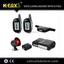 2015 good quality complete function two way car alarm system