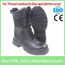 High cut anti smash safety boot black alibaba shoes