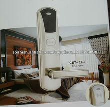 Zinc alloy RFID hotel lock for low temprature working