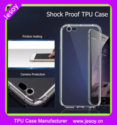 JESOY Wholesale Alibaba Clear TPU Shockproof Mobile Cover For iphone 6,UV Printing Cover Mobile Phone Case