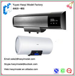 Professional custom household polishing white pc electric water heater prototype