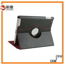 2015 Popular rotary pu leather case cover for ipad mini