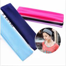 New Desgin, Wide Women Yoga Tennis Sport Simple Hairband Elastic head band, elastic hairband