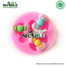 Handmade Silicone Fondant Mold for Cupcake Decoration