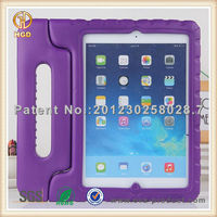 Welcome OEM/ODM custom colorful shockproof protective case for ipad air case with stand