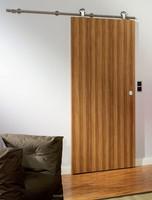 Finish Wall Mounted Cheap Sliding Flush Door