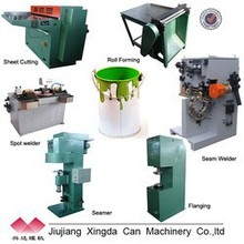 complete cans/paint can production line