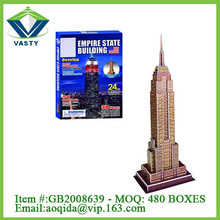 24 Pcs The Empire State Building 3d puzzle jigsaw
