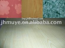 Marbling Polyester Plywood for decorative and construction
