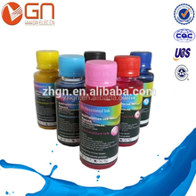 Vivid colors wide format bulk sublimation ink for cotton fabric for epson stylus pro 7600 / 9600