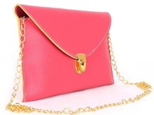 Cheapest Price Colorful Fashion Small Size Style Envelope Lady Hand Bag Shoulder Girl Bag