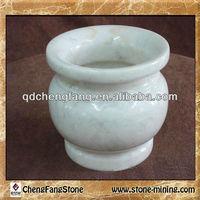 china style antique marble vase, white marble vase