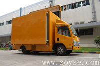 Hot sale 5d mobil cinema in truck outdoor cinema in China