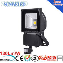 LED Solar PIR Motion Sensor Security Flood Light 30w 50w 70w 100w with CE SAA IES IP65