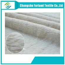 changshu factory wholesale velboa fleece plush toys fabric