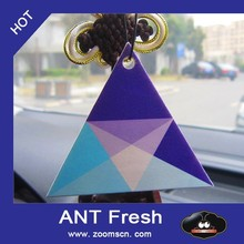 100% cotton Triangle paper air freshener