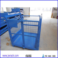 Industry Foldable Metal Wire Mesh Storage Container