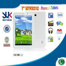 7 inch dual card dual standby phone call tablet