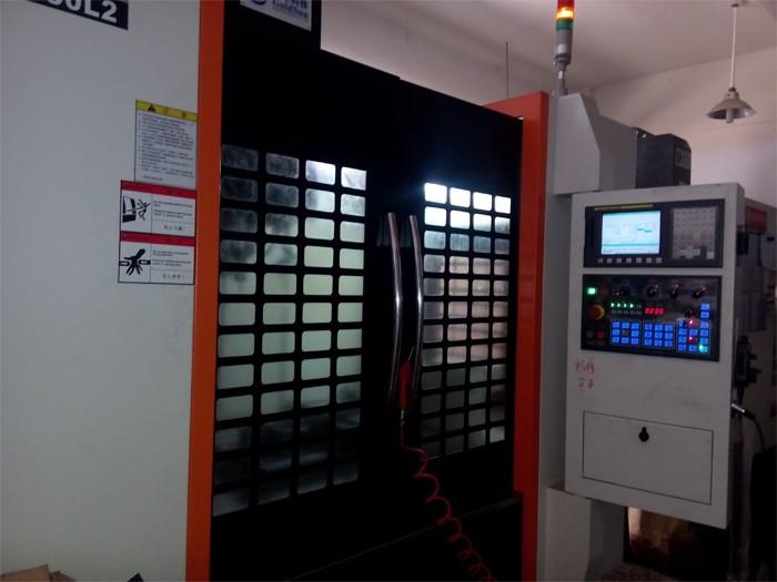 Moldura de alumínio anodizado usinado CNC placa de alumínio personalizado