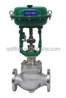 Pneumatic actuated diaphragm sleeve type balancing control valve