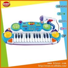 teclas 24 los niños juguetes electrónicos de órganos