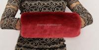 2015new hot sale Winter Warmer Fur Hand Muff faux fur hand warmer
