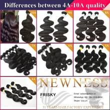 Remy Hair,AAAA grade relaxed texture hair extension 100% virgin human hair malaysian body wave