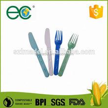 De los niños ambientales cuchillos de plástico para la familia