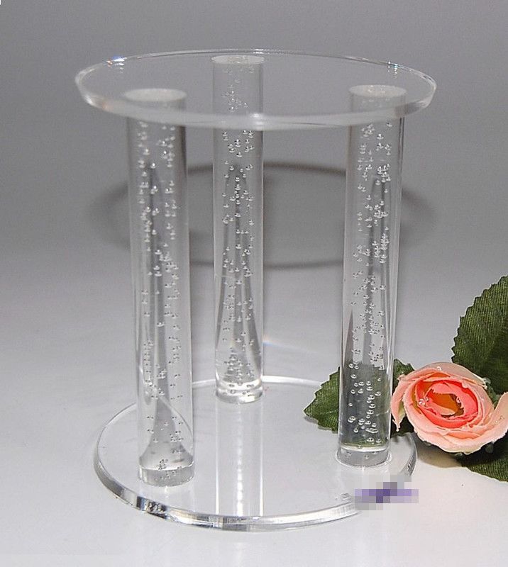 new style acrylic bubble rod for acrylic holder/bubble acrylic rods for decoration