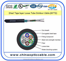 Excel Network 24 Core Armored Single Mode Optical Fiber Cable GYTS
