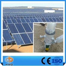 low price galvanized solar energy mounting steel structure