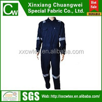 Flame retardant workwear fireproof anti-static coverall uniform anti acid alkali waterproof