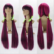 yiwu market sexy japanese girl animation cosplay synthetic wig PGW-1805