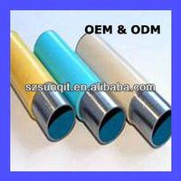 flexible lean tube for mobile shelving