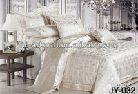Jade green colour Jacquard Quilted Velvet Bed Covers JY-032