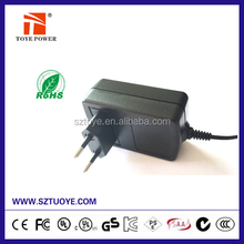 CB GS UL CE approval 6v 4a ac dc adaptor UL UK EU plug power adapter